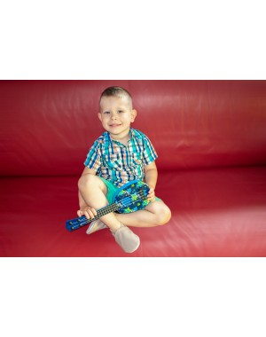 Yalion® Baby Krabbelschuhe Lederpuschen Lauflernschuhe Kinderhausschuhe Braungrau Einfarbig