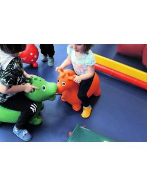 Yalion® Baby Krabbelschuhe Lederpuschen Lauflernschuhe Kinderhausschuhe Dunkelgrau Einfarbig
