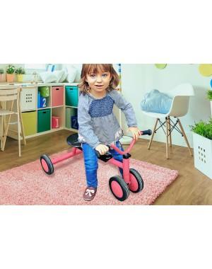 Yalion® Baby Krabbelschuhe Lederpuschen Lauflernschuhe Kinderhausschuhe Rosa Einfarbig
