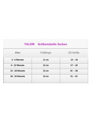YALION® 6 Pairs of baby socks full plush full terry warm sole