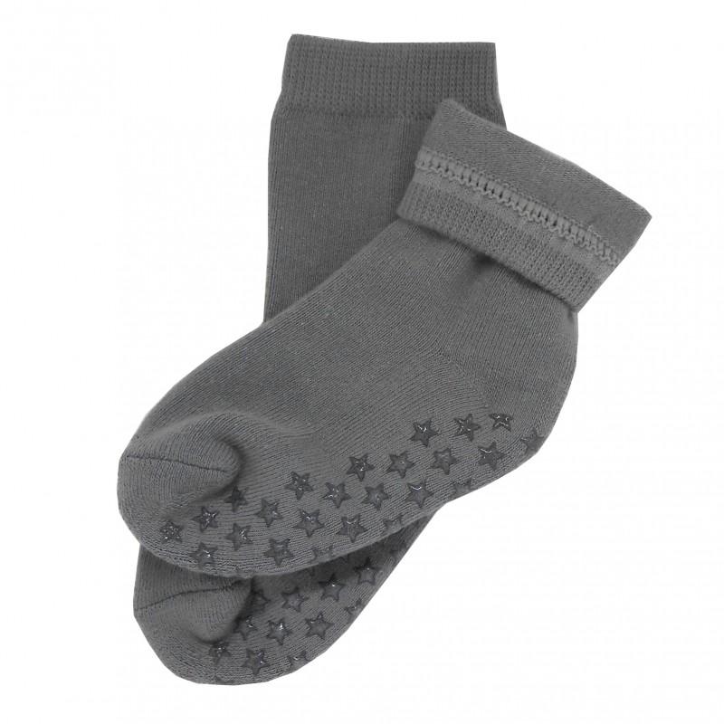 Yalion® 3 Pairs of baby children's socks, half-plush, warm sole ANTI-SLIP