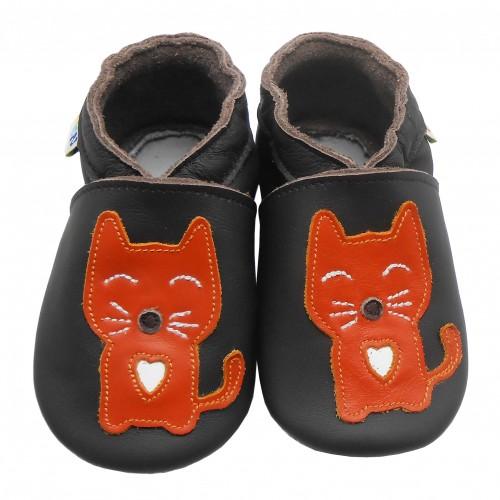 Lauflernschuhe Rote Katze