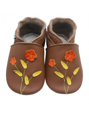 Soles Red Flowers
