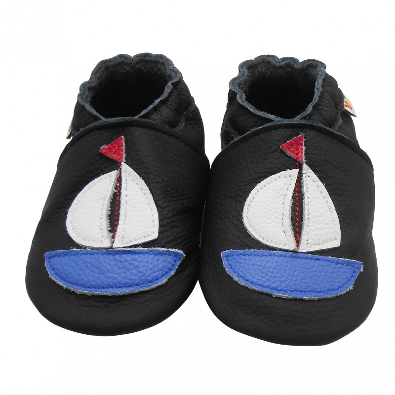 Yalion® genuine leather Baby Shoes Soft Soles Leather Sneaker white Ship