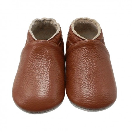 Yalion® Baby Shoes Soft Soles Brown