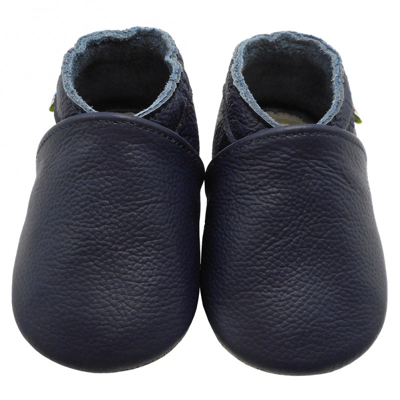 Yalion® Baby Shoes Soft Soles Dark Blue
