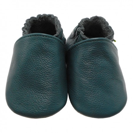 Yalion® Baby Shoes Soft Soles Dark Green