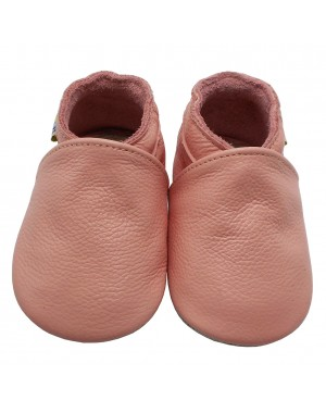 Yalion® Baby Shoes Soft Soles Pink