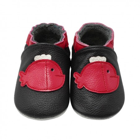 Yalion® Baby Shoes Soft Soles Red Fish