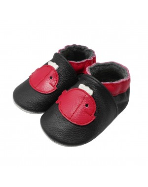 Yalion® Baby genuine leather Shoes Soft Soles Red Fish