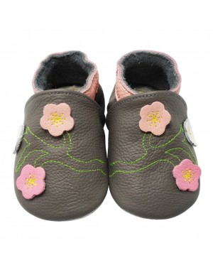 Yalion® Lauflernschuhe mit Blumen