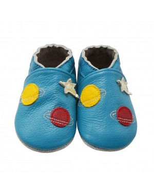 Yalion® genuine leather Baby Shoes Soft Soles Aerospace